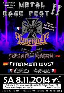 Metal Rage Fest II